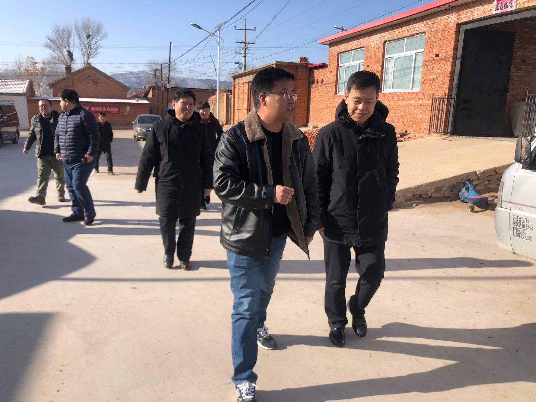 省店公司党委书记、董事长于慧丰到承德进行调研指导、走访慰问贫困村